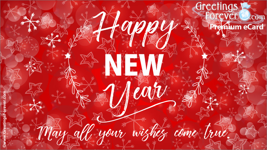 Ecard - Happy new year for you