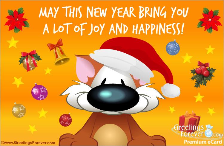 Ecard - Joy and happiness