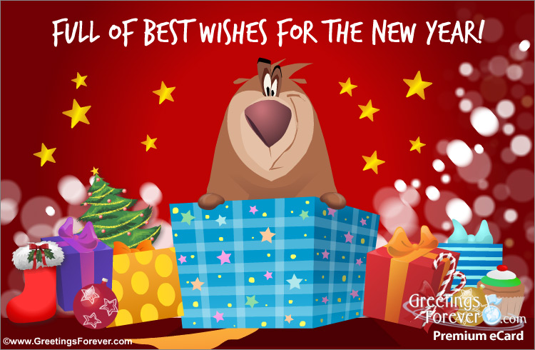 Ecard - Best wishes for the new year