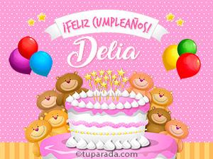 Tarjetas de  Delia
