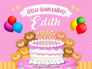 Tarjetas de Edith