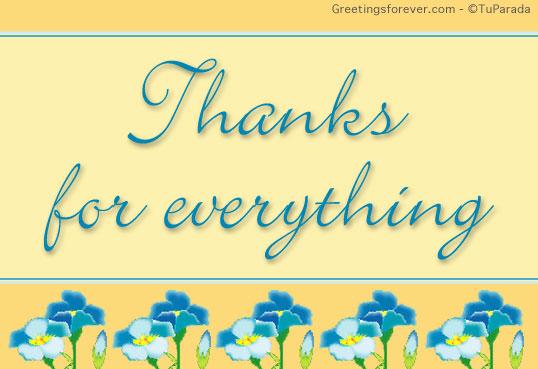 Ecard - Thanks