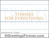 Thanks ecard