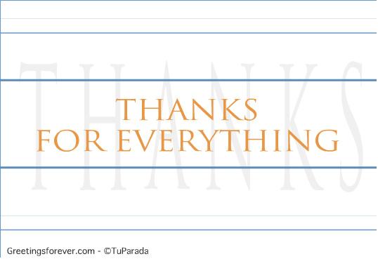 Ecard - Thanks ecard