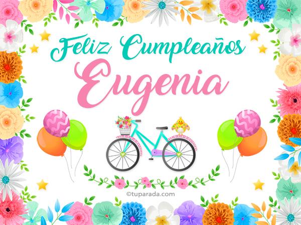 Tarjeta - Nombre Eugenia