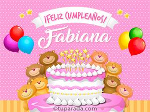 Tarjetas de Fabiana