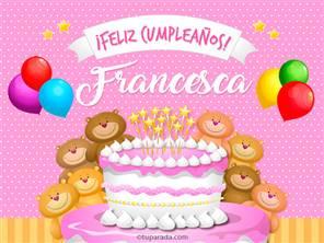 Tarjetas, postales: Francesca