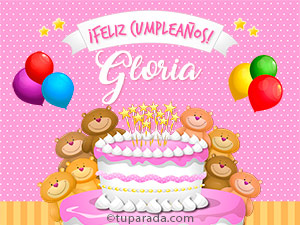 Tarjetas de Gloria