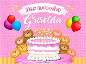 Tarjetas, postales: Griselda