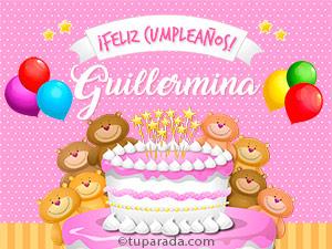 Tarjetas de Guillermina