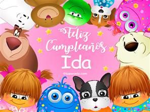 Feliz cumpleaños Ida