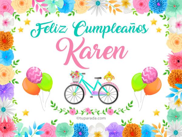 Nombre Karen Karen Tarjetas