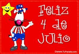 Feliz 4 de julio