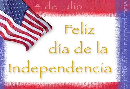 Tarjeta - Día de la Independencia
