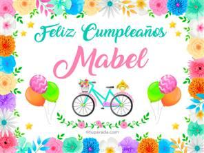 Tarjeta de Mabel