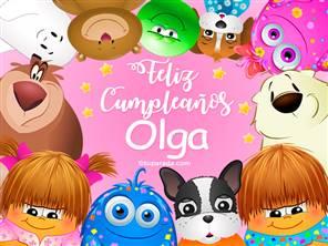Tarjeta de Olga