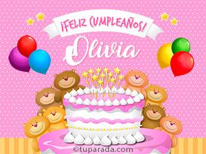 Tarjetas de Olivia
