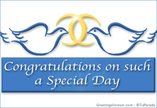 Ecard - Congratulations on such special day