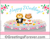 Happy Wedding and best wishes