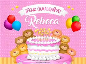 Tarjetas, postales: Rebeca