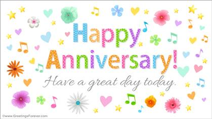 Happy Anniversary ecard