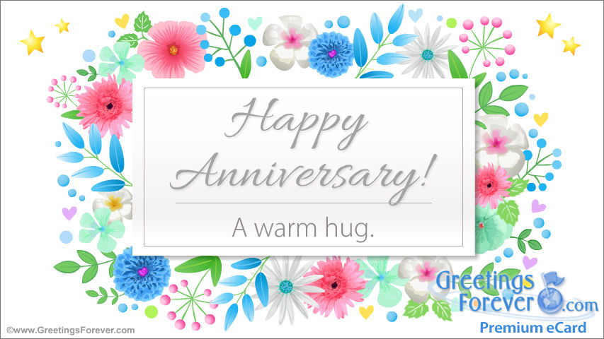 Ecard - Congratulations on the Anniversary