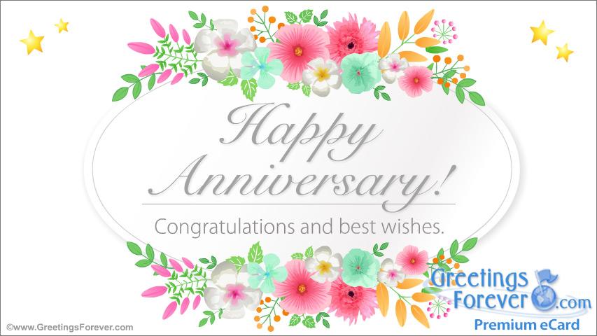 Ecard - Anniversary greetings