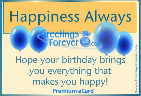 Ecard - It's Your Birthday!