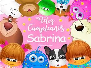 Feliz cumpleaños Sabrina