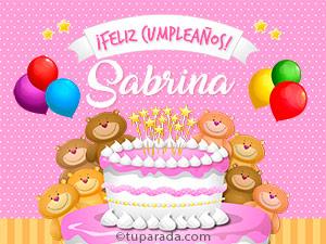 Tarjetas de Sabrina