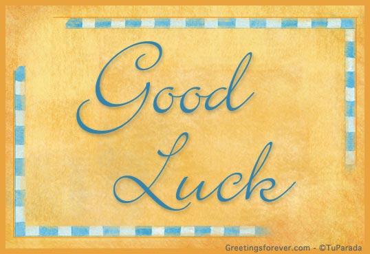 Ecard - Good luck