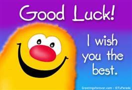 I wish you...