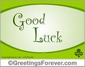 Ecards: Good Luck ecards