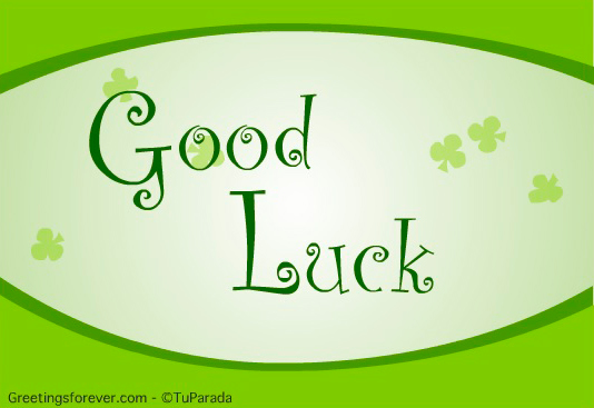 Ecard - Good luck ecard