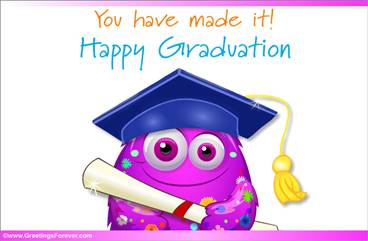 Happy Graduation in pink