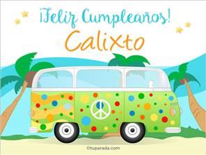 Nombre Calixto