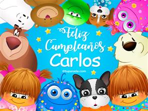 Tarjeta de Carlos