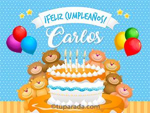 Tarjetas de Carlos