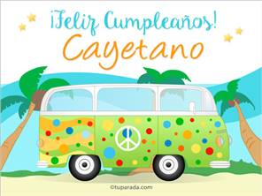 Nombre Cayetano