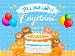 Cumpleaños de Cayetano
