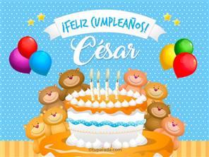 Tarjetas, postales: César