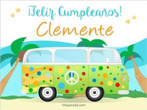 Tarjeta de Clemente