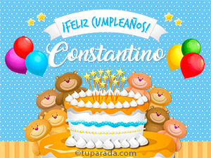 Tarjetas de Constantino