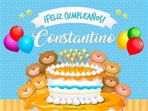 Tarjetas, postales: Constantino