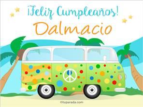 Tarjeta de Dalmacio