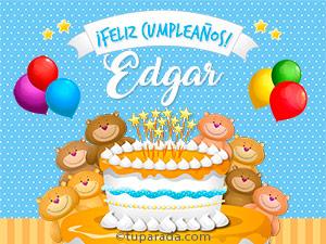 Tarjetas de Edgar