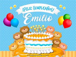 Tarjetas de Emilio