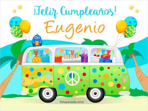 Tarjeta - Nombre Eugenio