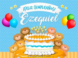 Tarjetas de Ezequiel