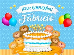 Cumpleaños de Fabricio